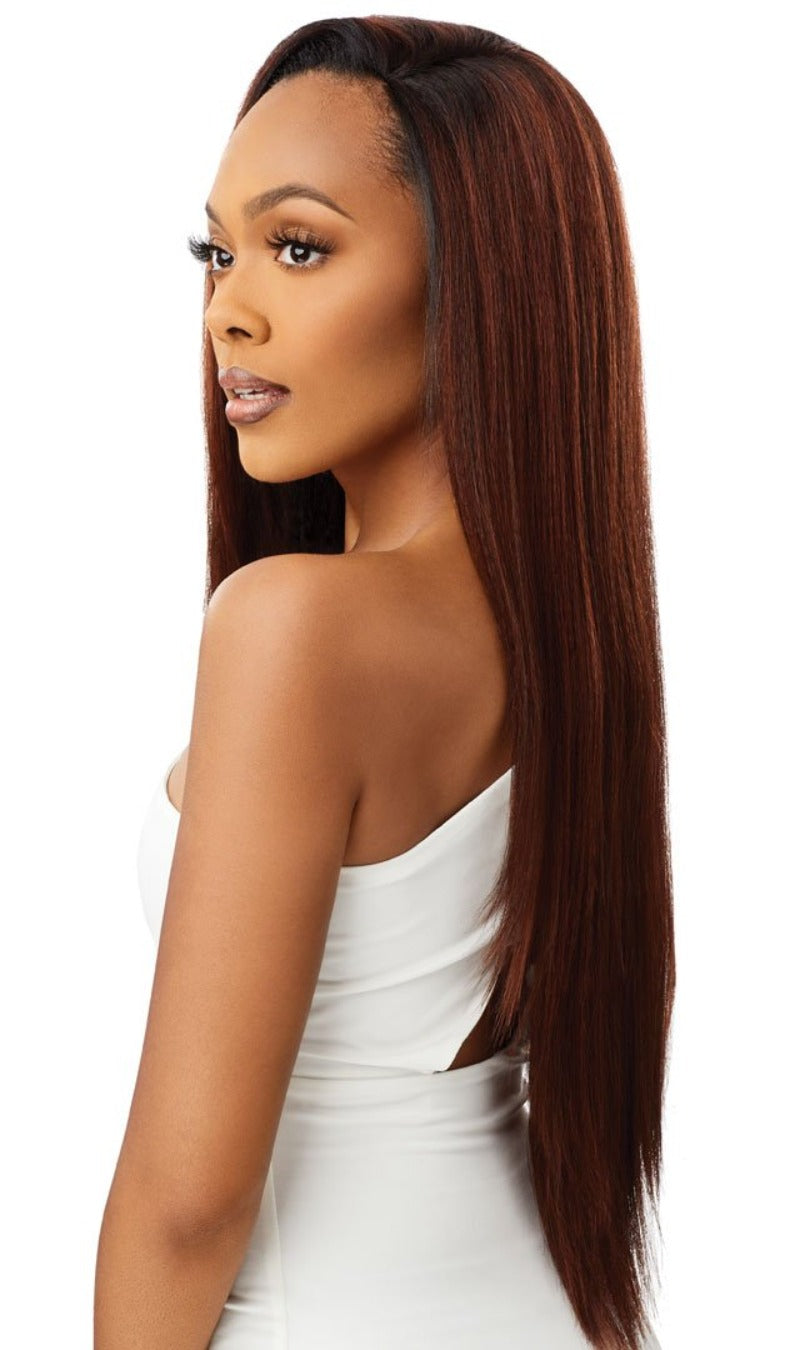 Outre Synthetic Quick Weave Half Wig SERENITY