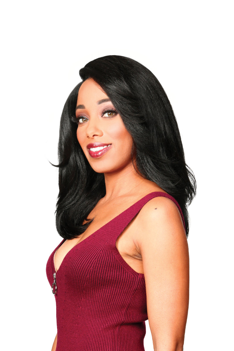 Zury Sis Naturali Star Synthetic Hair Lace Front Wig NAT LACE H ROMY