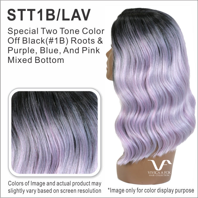 Vivica A Fox Synthetic Swiss Lace Front Free Part Wig SEMELE