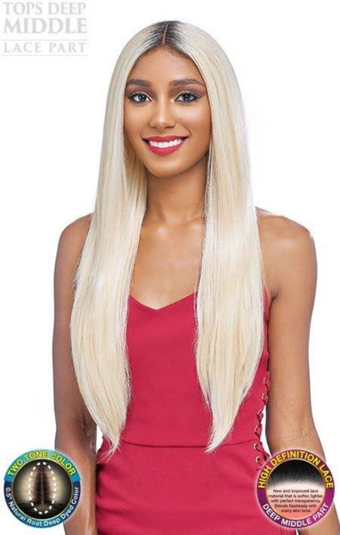 Vanessa Tops Middle Part HD Lace Front Wig TMD LETISHA