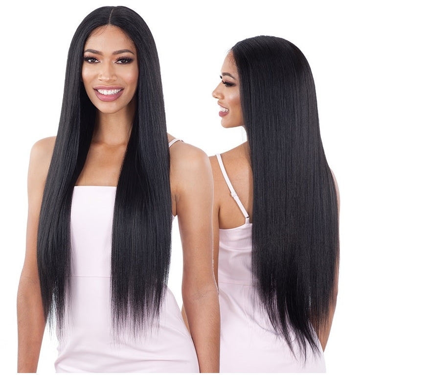 Shake N Go Organique Synthetic Lace Front Wig LIGHT YAKY STRAIGHT 30 (discount applied)