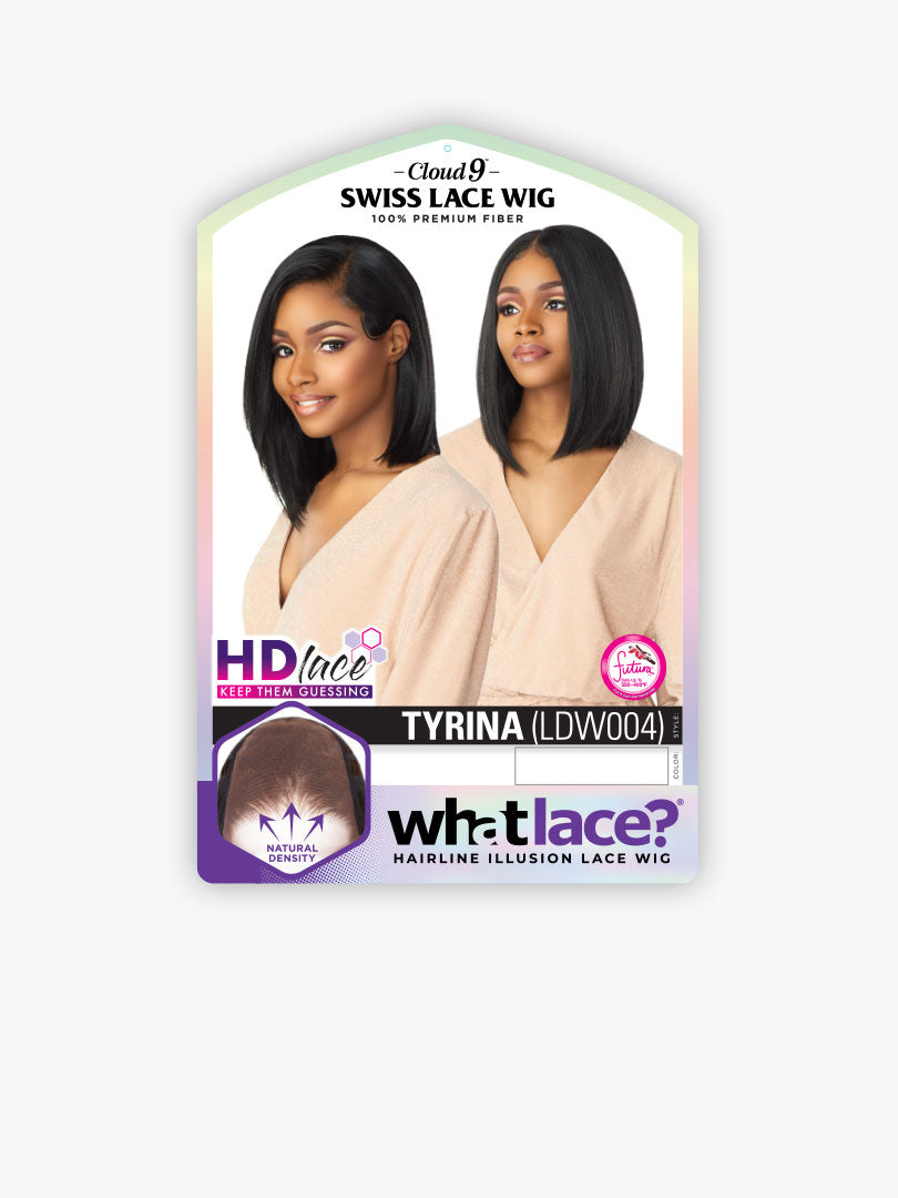 Sensationnel Synthetic Cloud 9 Swiss Lace What Lace 13x6 Frontal HD Lace Wig TYRINA