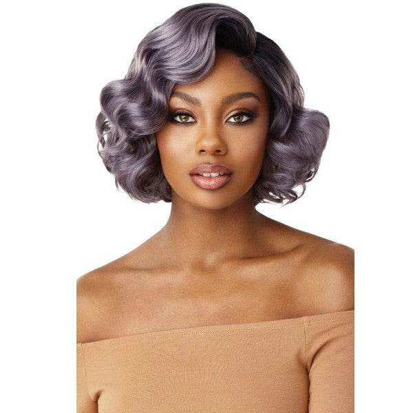 "Outre Synthetic 5"" Deep I-Part Swiss Lace Front Wig AVERY"