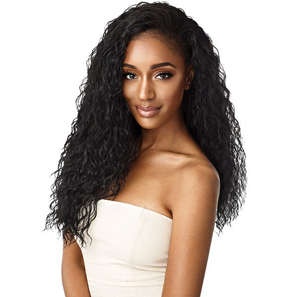 Outre Quick Weave Wet & Wavy Half Wig BEACH CURL 24""