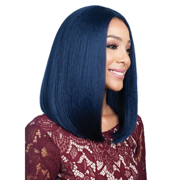 Bobbi Boss Human Hair Blend Swiss Lace Front Wig MBLF90 Juba (discount applied)