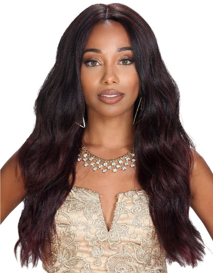 Zury Sis HH Natural Mix Hand-Tied Lace Lace Front Wig PM-LFP LACE BRADY