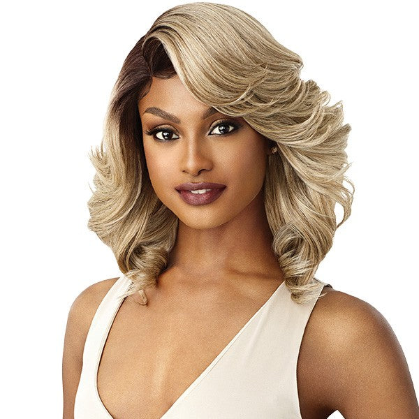 "Outre Synthetic 5"" Deep I-Part Swiss Lace Front Wig BRANDI"