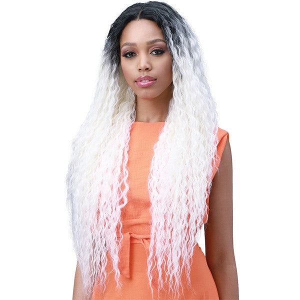 Bobbi Boss Miss Origin 13x6 Swiss Lace Frontal Wig MOGLWBR32 BRAZILIAN WAVE 32