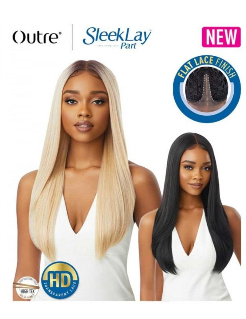 Outre Synthetic Sleek Lay Part Lace Front Wig CHANELLE
