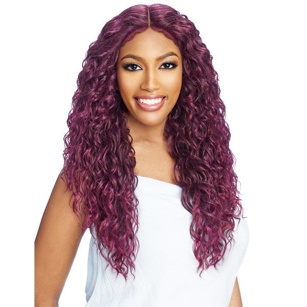 Vanessa Tops Deep Middle Lace Part Swissilk Lace Front Wig TDM CIENNA 28