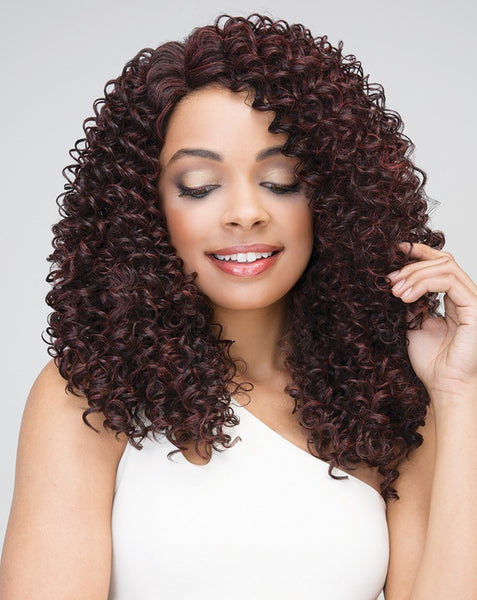Janet Collection Brazilian Scent HH Premium Blend Lace Front Wig DOMINI