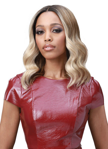 Bobbi Boss Deep Lace Part Swiss Lace Front Wig MLF390 AMBER