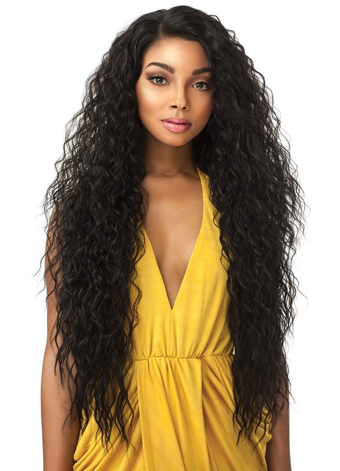 Empress Natural Curved Part Lace Front Edge Wig TUSCANY
