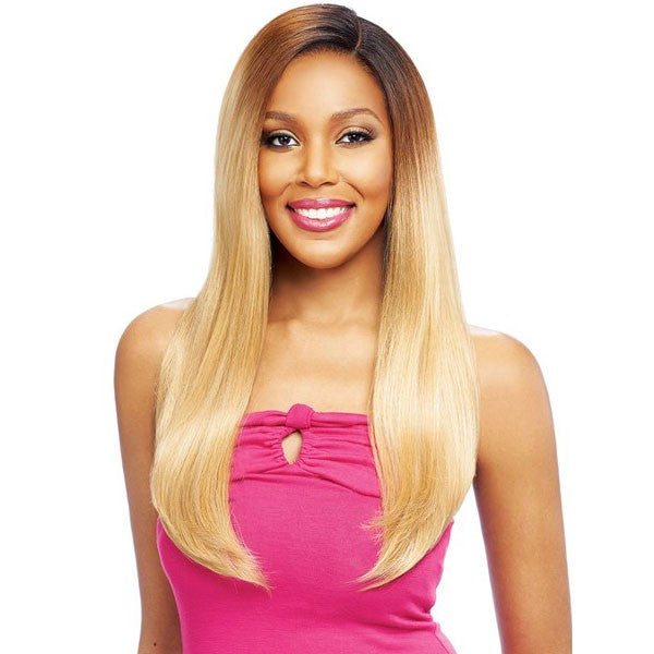 Vanessa Honey 88 Brazilian Human Hair Blend Whole Lace Wig T88HB FINESE