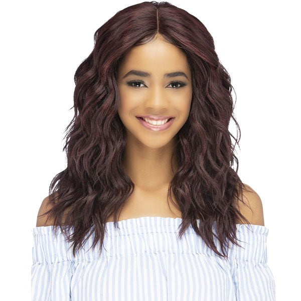 Vivica A Fox Natural Baby Hair Invisible Lace Part Swiss Lace Front Wig HEBE