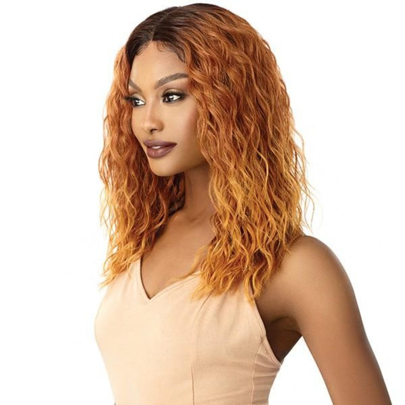 Outre Synthetic I Part Swiss Lace Front Wig TATUM