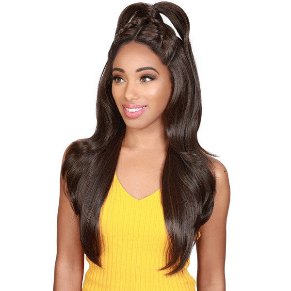 Zury Sis Beyond Synthetic Twin Part Lace Front Wig BYD TP LACE H BAO