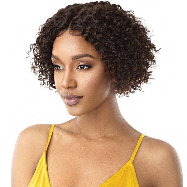 Outre MyTresses Gold Label Unprocessed Human Hair Lace Front Wig NATURAL BOHO LAYER BOB