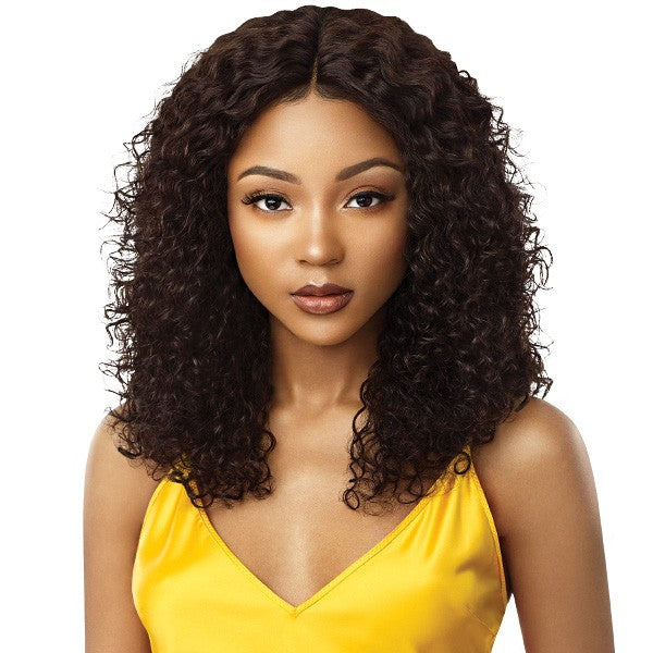 Outre MyTresses Gold Label Unprocessed Human Hair Lace Front Wig NATURAL JERRY 18-20