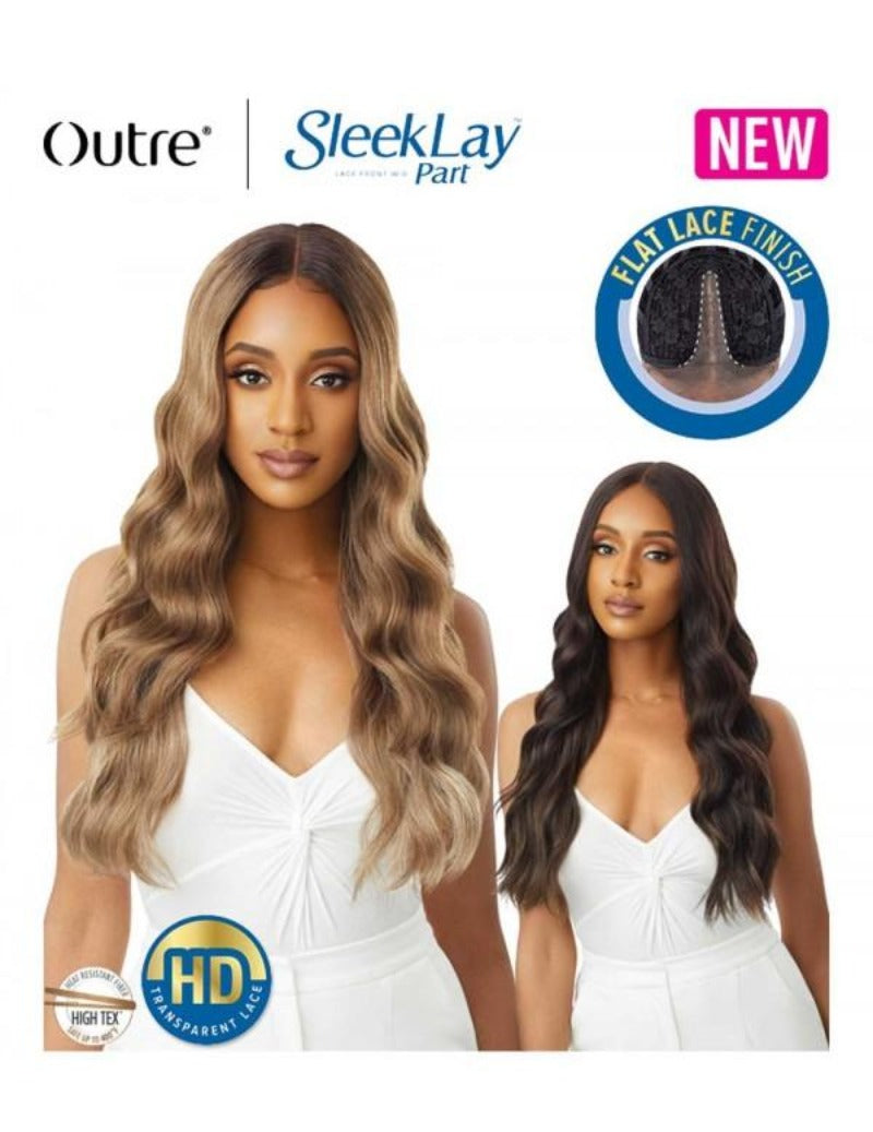 Outre Synthetic Sleek Lay Part Lace Front Wig IDINA