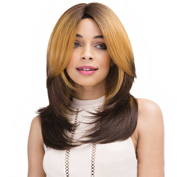 Janet Collection Human Hair Brazilian Scent Lace Wig SAMALA