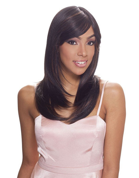 Janet Collection Human Hair Blend Wig Brazilian Scent ABEL