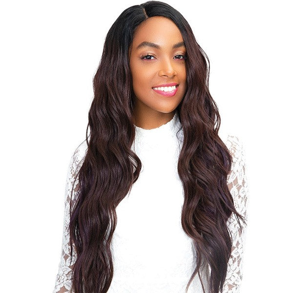 Janet Collection Human Hair Blend Princess 4x4 Lace Front Wig ANNIE