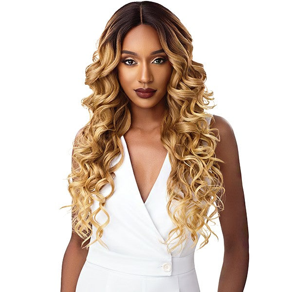 Outre &Play Human Hair Premium Blend Swiss Lace Wig JERICKA