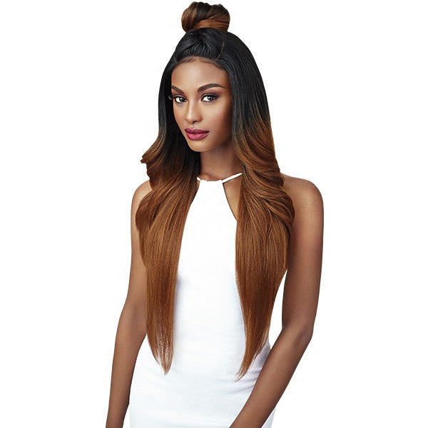 Outre Synthetic Double U Vixen Swiss Lace Front Wig KENDALL