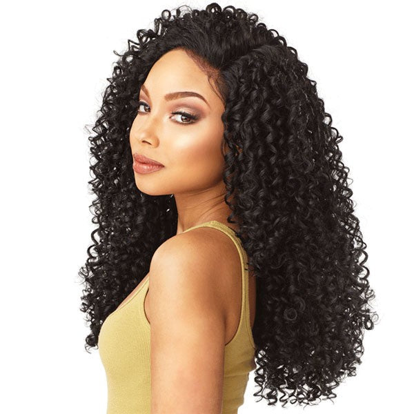 Empress 6 Inch Part Custom Lace Front Wig KINKY CURLY (discount applied)
