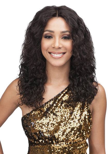 "Bobbi Boss Unprocessed Virgin Remy 13x4"" Swiss Lace Wig MHLF311 KALI"