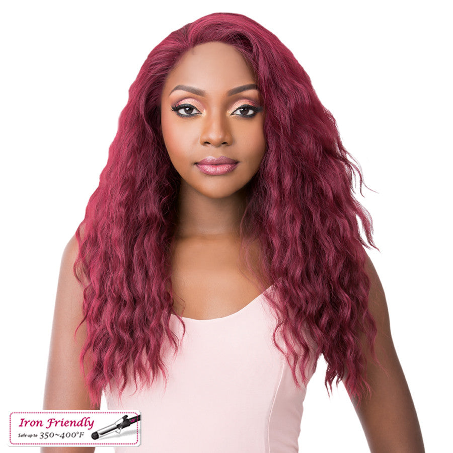 Its a Wig Synthetic Simply Lace Front Wig SIMPLY LACE LAKE WAVE
