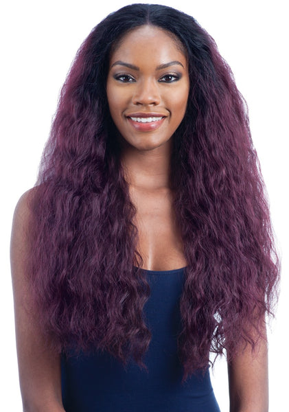 Model Model Deep Invisible Part Lace Front Wig BLAZE MEADOW