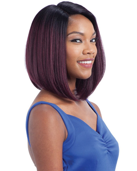Model Model Deep Invisible Diagonal Part Lace Front Wig DIDI