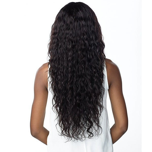 Sensationnel Unprocessed Virgin Human Hair 10A 360 Swiss Lace Wig LOOSE WAVE 28""
