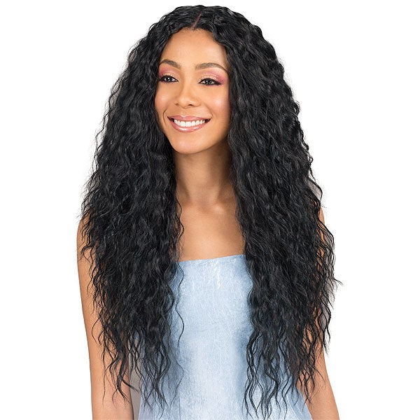 Bobbi Boss Human Hair Blend Lace Front Wig MBLF120 KIANA