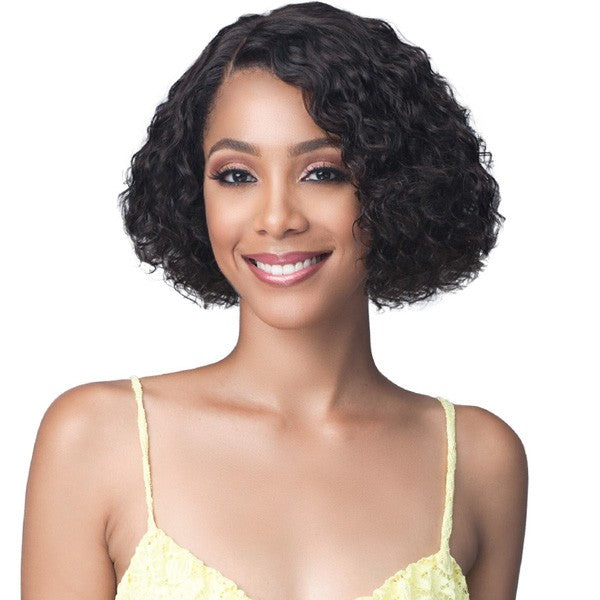 Bobbi Boss Unprocessed Human Hair Lace Front Wig MHLF421 WATER CURL 10