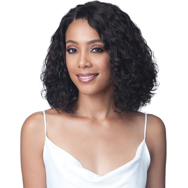 Bobbi Boss Unprocessed Human Hair Lace Front Wig MHLF422 WATER CURL 12