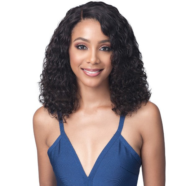 Bobbi Boss Unprocessed Human Hair Lace Front Wig MHLF423 WATER CURL 16