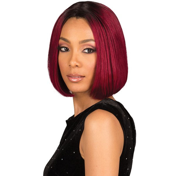 Bobbi Boss Unprocessed Remi Human Hair Lace Front Wig MHLF801 EMA NATURAL