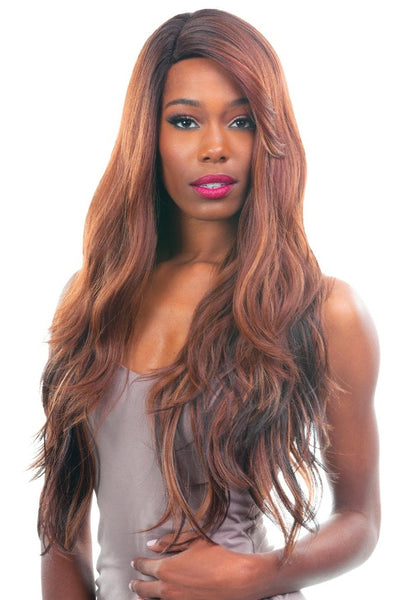 New Born Free Magic Lace Curved Part Lace Front Wig MLC190