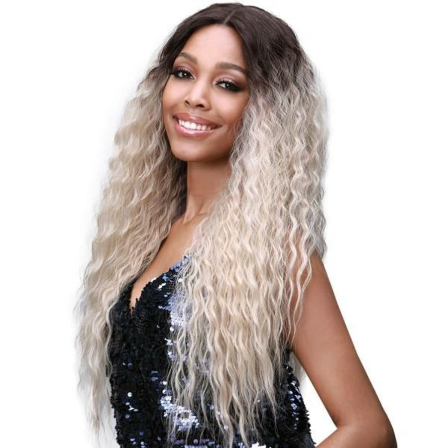 Bobbi Boss Premium Synthetic Swiss Lace Front Wig MLF384 LYRICA