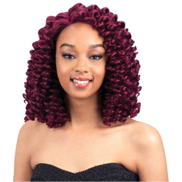 Model Model Deep Invisible L Part Lace Front Wig RINGGLE CURL