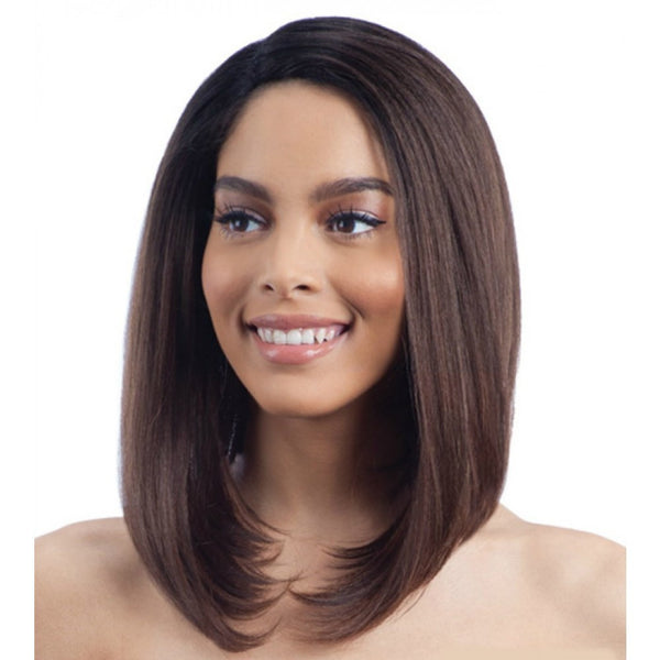 Model Model Deep Invisible L-Part Lace Front Wig Jamila