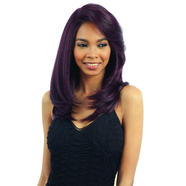 Model Model Deep Invisible L-Part Lace Front Wig Shine Meadow (discount applied)