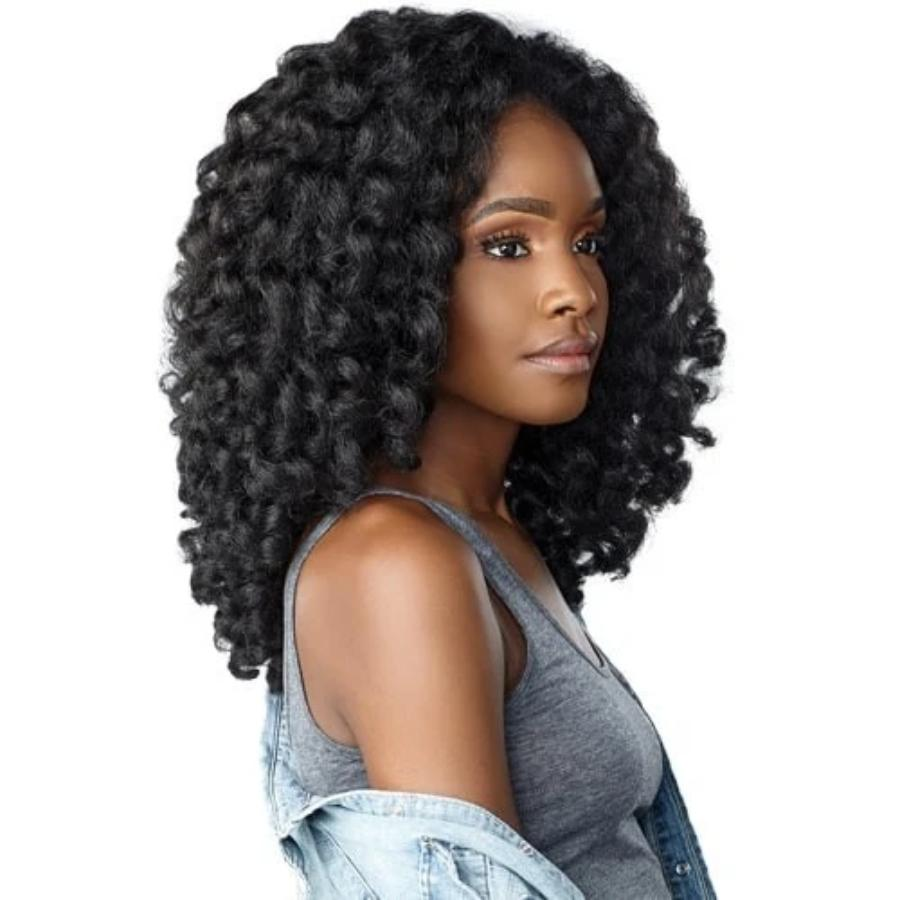 Sensationnel Instant Weave Curls Kinks & CO Synthetic Half Wig MONEY MAKER