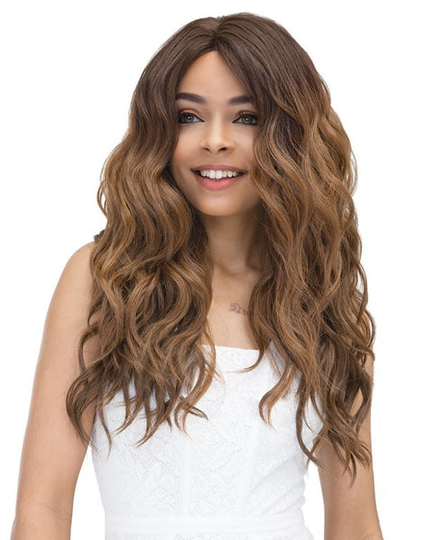 Janet Collection Natural Super Flow Deep Part Lace Front Wig MOON (discount applied)