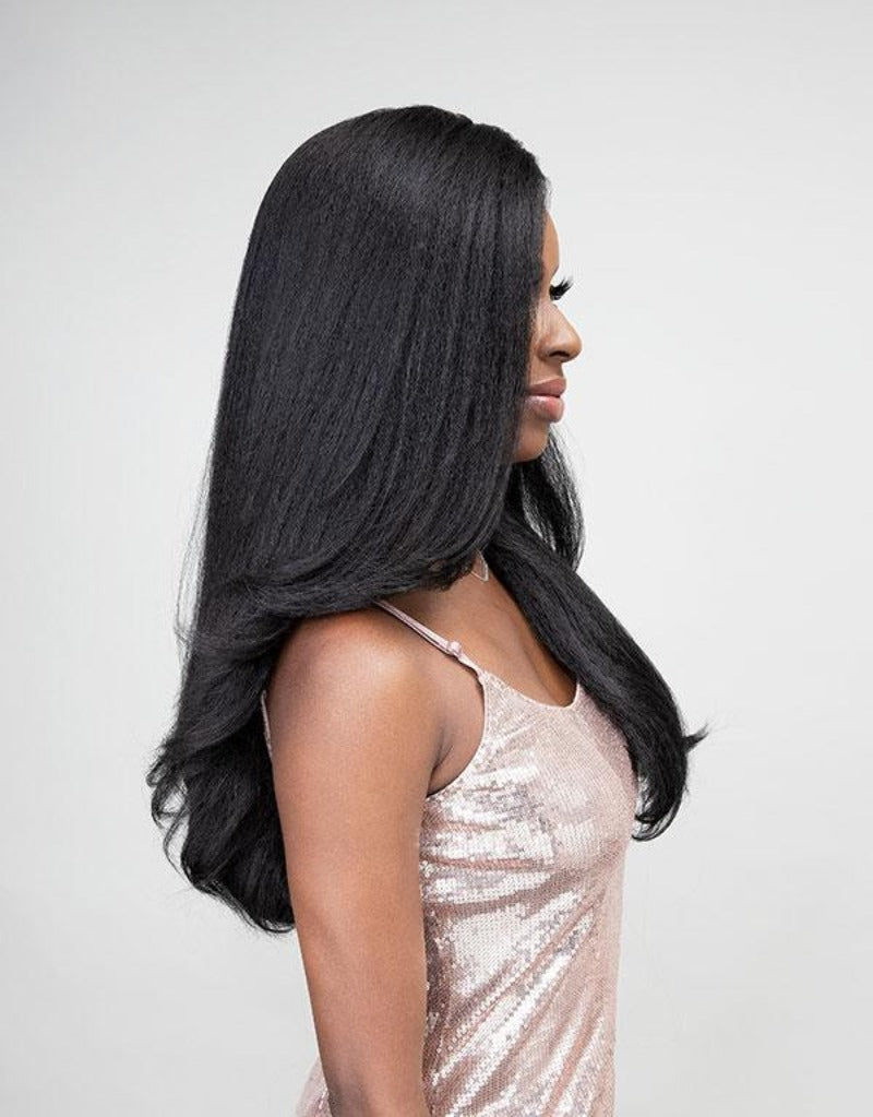 Janet Collection Natural Me Blowout Synthetic Hair HD Lace Wig TAMILA
