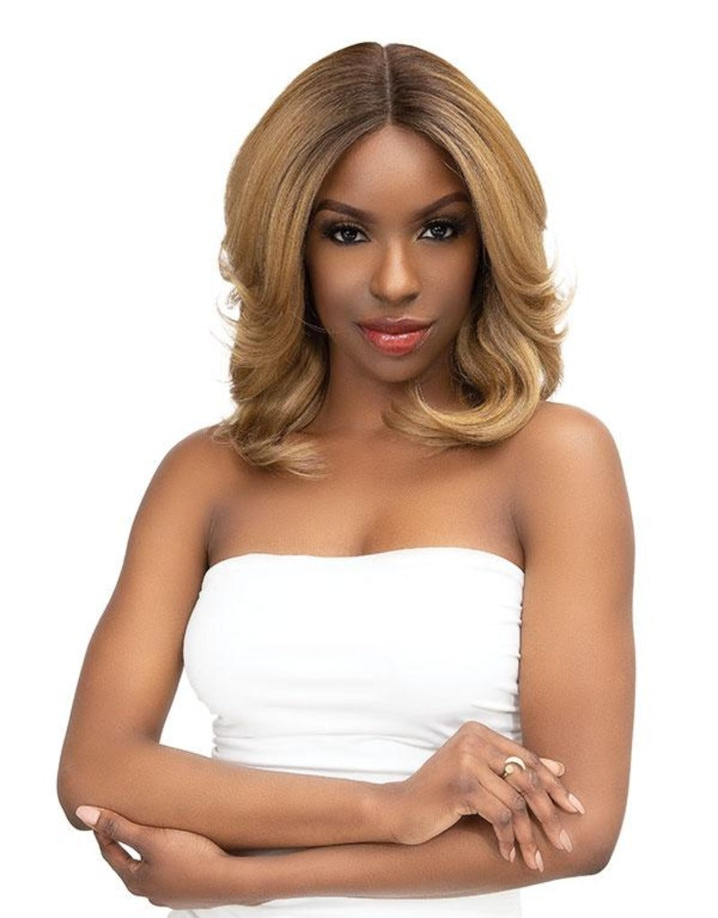 Janet Collection Synthetic Natural Me Lite Lace Wig AYANA