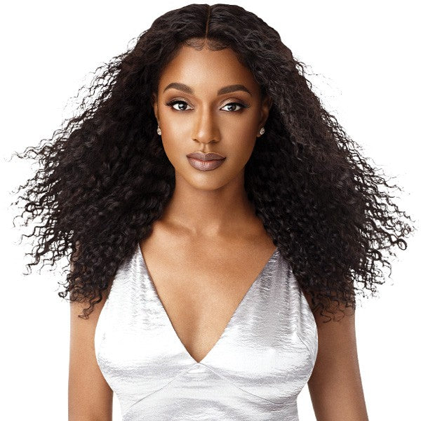 Outre 100% Unprocessed Human Hair 360 Frontal Lace Wig NATURAL BOHEMIAN